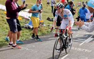 <div>Tour de France: 'It's not finished yet' says Tadej Pogačar, 'anything can happen'</div>