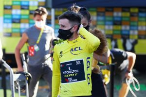 <div>'No one wants to take the yellow jersey like this' says Adam Yates after taking Tour de France lead</div>