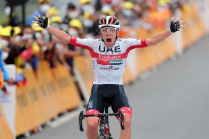 Primož Roglič claims overall lead as Tadej Pogačar wins thrilling Tour de France 2020 stage nine