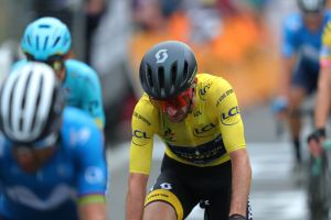 <div>'It was fun while it lasted': Adam Yates goes down fighting as he relinquishes Tour de France yellow jersey</div>