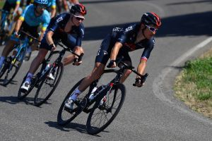 <div>'I'm a lot better than three weeks ago' - Geraint Thomas confident about progression towards Giro d'Italia</div>