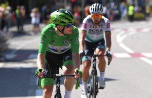 <div>'We will go full gas for Peter': Bora-Hansgrohe prepare final assault on Tour de France green jersey</div>