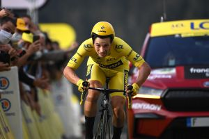<div>Primož Roglič: 'I didn't have the power I needed' as he loses Tour de France lead at the final hurdle</div>