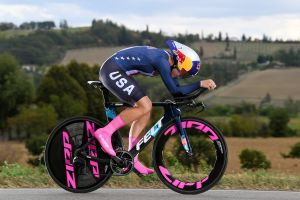 Imola 2020 Road World Championships: Chloe Dygert crashes out of women's time trial