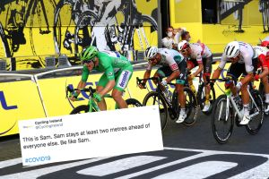 <div>Tweets of the Week: Social distancing with Sam Bennett, Alice Jackson's tribute, and how does the Tour de France work?</div>