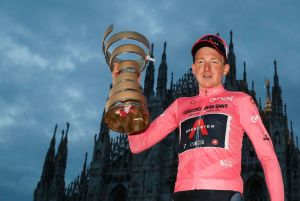<div>What comes next? 'I don't know and I don't really care' says Tao Geoghegan Hart after Giro d'Italia victory</div>