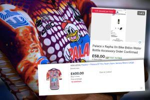 EF Rapha + Palace jerseys already selling for £600 on eBay