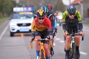 <div>'That's perhaps the last race of my career': Mark Cavendish emotional after finish of Ghent-Wevelgem</div>