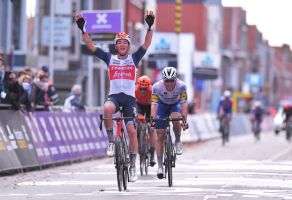 Mads Pedersen takes victory in hard-fought Ghent-Wevelgem 2020