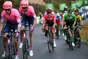 Five talking points from stage eight of the Vuelta a España 2020