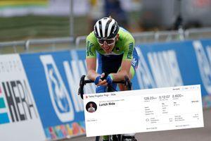 <div>Tadej Pogačar ends his season as he 'needs rest', but still puts in 128km training ride</div>