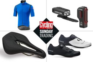 Sunday trading: Big discounts on winter kit including Lezyne and Castelli