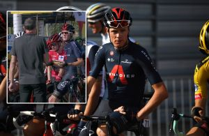 <div>Here's what Chris Froome said to race organisers during the Vuelta a España protest</div>