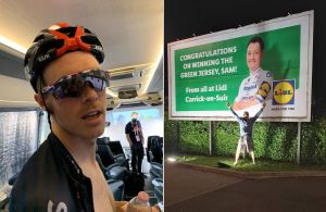 Tweets of the week: Rohan Dennis the impressionist, and Sam Bennett on a billboard outside Lidl