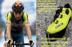 <div>Giovanni Visconti 'lucky to arrive at finish using his legs' after freak shoe accident on Giro d'Italia stage six</div>
