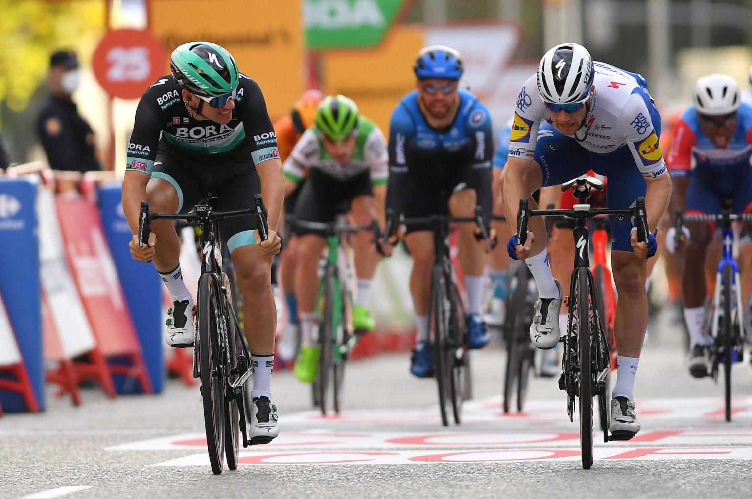 Five talking points from stage 18 of the Vuelta a España 2020