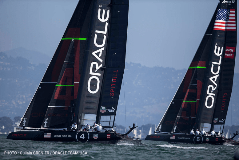 Americas Cup Oracles Illegal Boats Yachting World