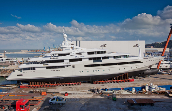 CRNs Biggest Ever Superyacht Prepares For Launch