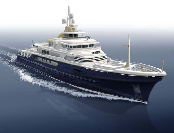 Hakvoort Signs Streamlined 63 Metre Project Zeus