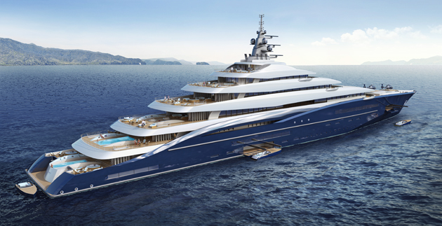 Could This Be The Biggest Ever Superyacht SuperYacht World
