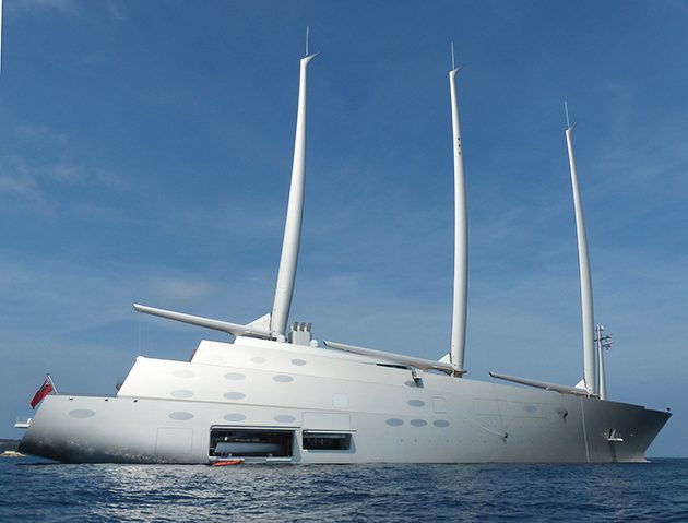 Sailing Yacht A Spotted In Cannes SuperYacht World