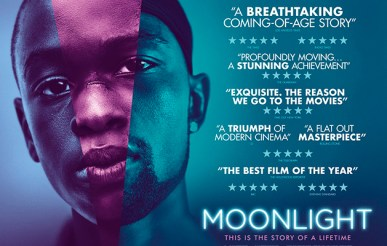 Promotional poster for Moonlight