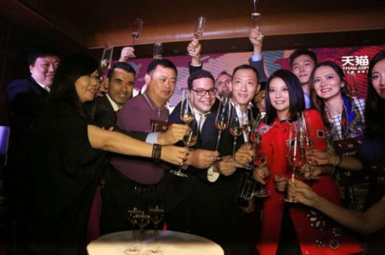 Zhao Wei, Wine in China
