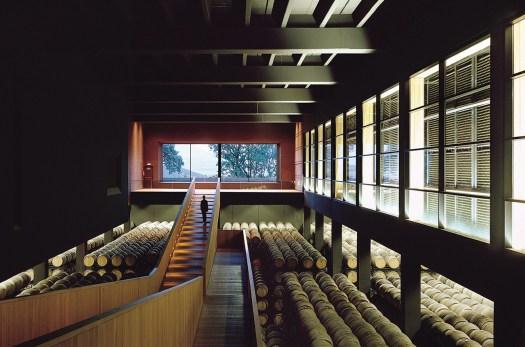 Campo Viejo underground winery