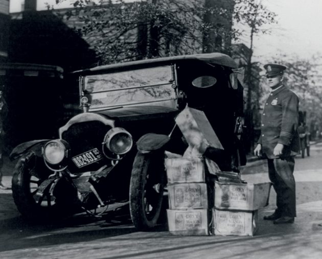 A bootlegger's wreck, 1932