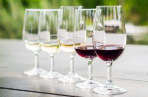 Classic French wine tasting - blind taste