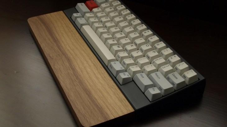 Happy Hacking Keyboardのパームレストを自作する