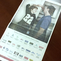 Here's the full page ad.