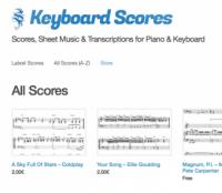 Keyboard-scores.com