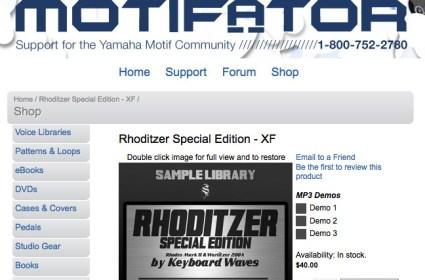 Rhoditzer on Motifator