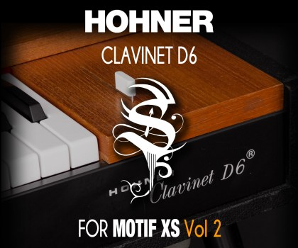 Clavinet for MOTIF XS Vol 2