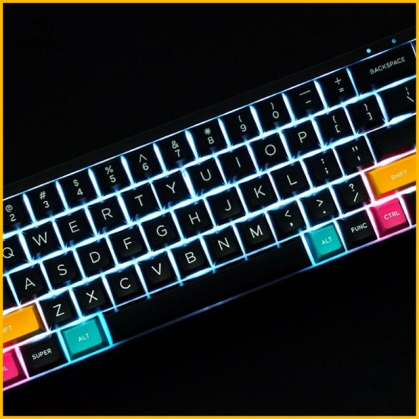 Domikey-Black-and-white-keycaps-set-witth-bakclight