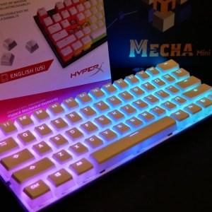 Clear keycaps Hyper X