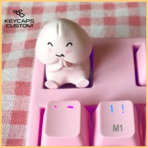 personalized-keycap-pink-cute-single-stereo-mechan1
