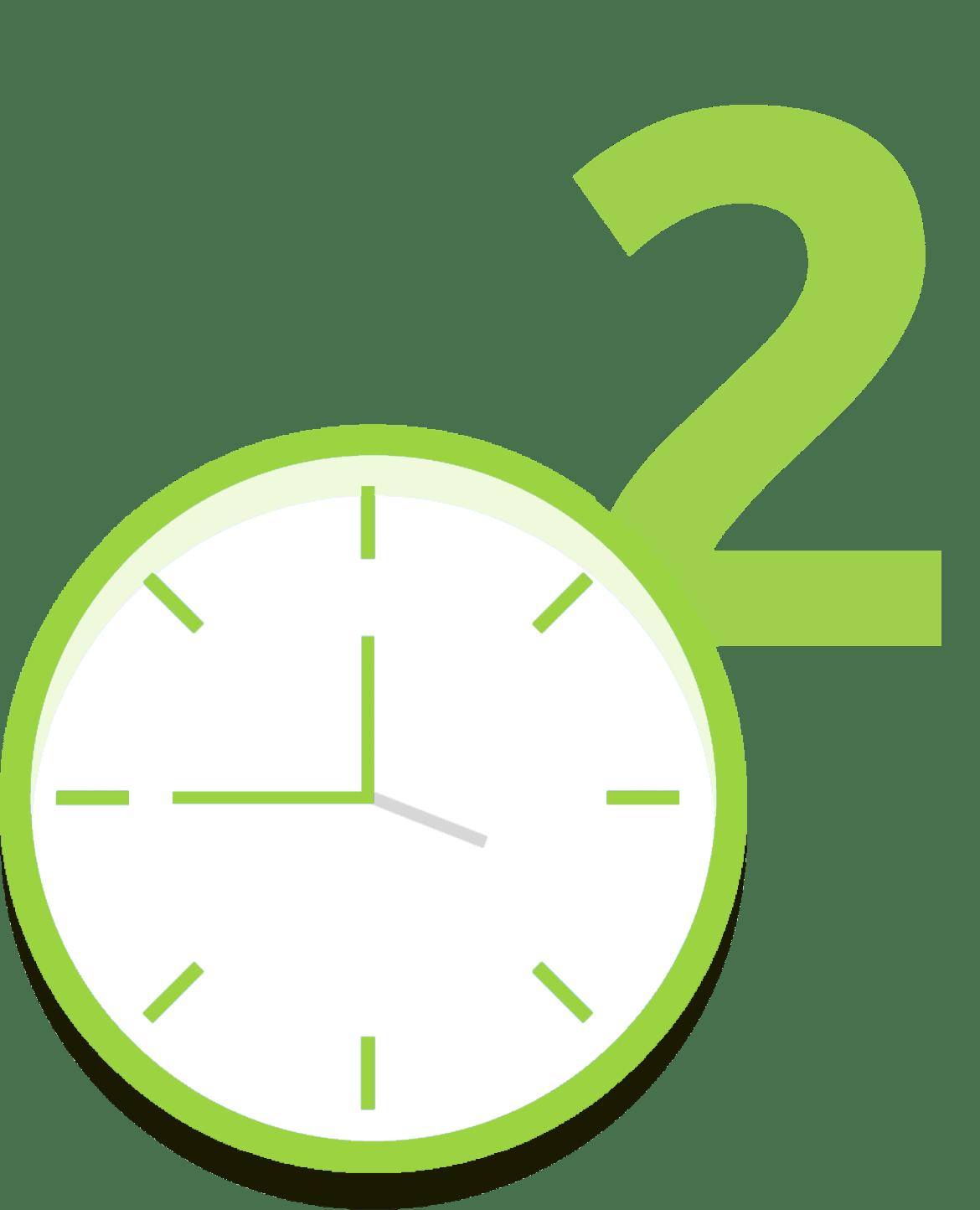 Étape 2- gain de temps