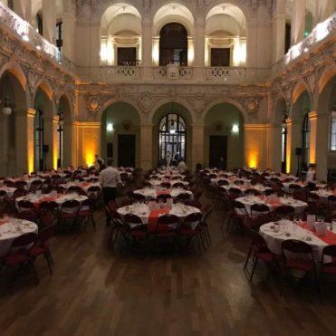 Prestation DJ pour une soirée d'entreprise à la CCI de Lyon pour une soirée de gala de séminaire d'entreprise