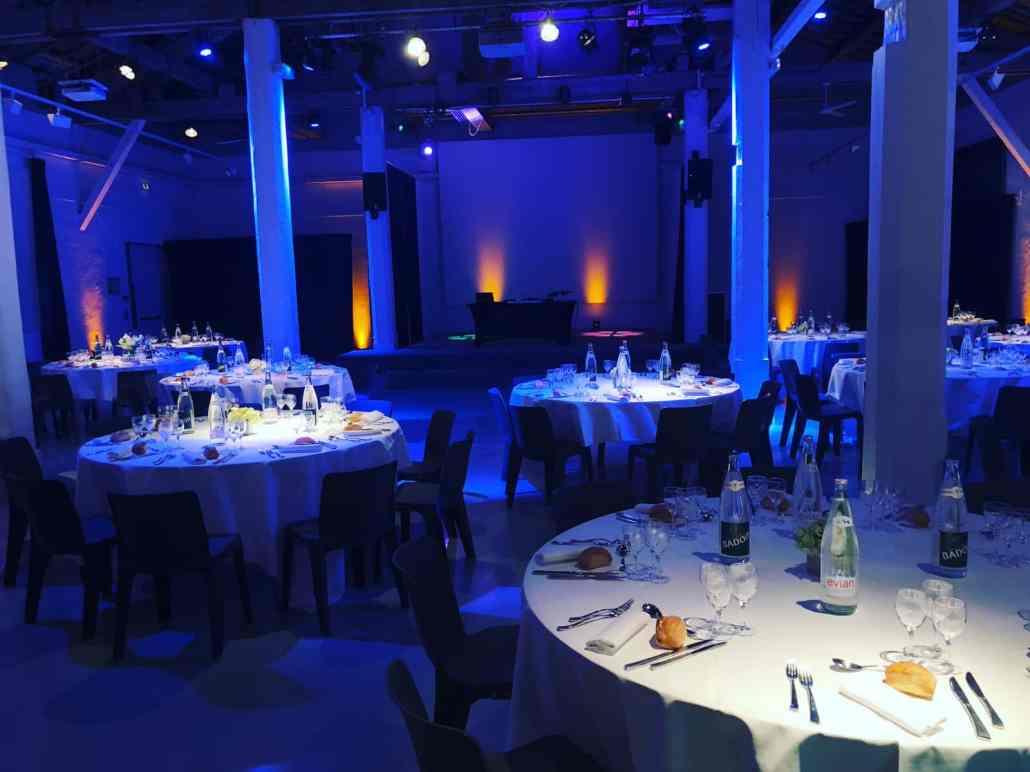 Soirée DJ entreprise lors de cette convention et soirée de gala à l'embarcadère de Lyon