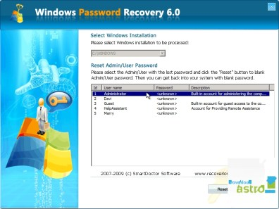 Windows Password Recovery Tool Crack