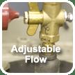 adjustable flow
