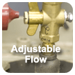 adjustable flow