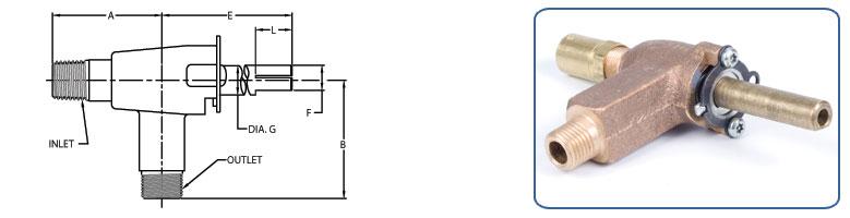 top burner valves
