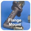 flange mount gas orifice holder