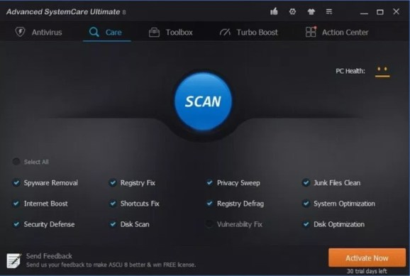 Advanced SystemCare Pro 14.02.171 Crack & Serial Key 2021