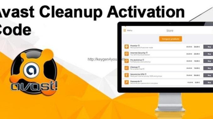 avast cleanup activation code-keygen4youdf