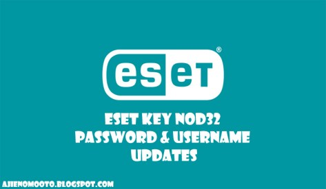 Eset Nod32 Username and Password 2019