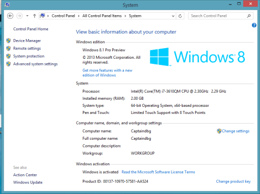 Windows 8.1 Product Key (64 bit &32 bit) 2019